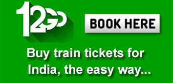 Buy tickets for trains in India with 12go