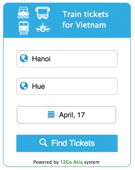 Buy train tickets from 12go.asia