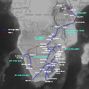 Click for map of train routes in southern Africa