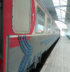 1st class cat an Algiers-Oran train