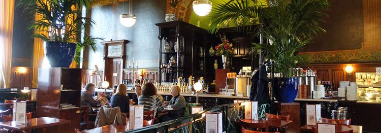 Grand Cafe 1e Klas,室内