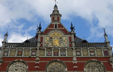Amsterdam Centraal frontage