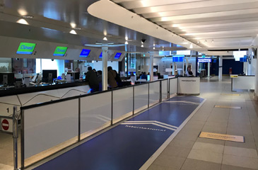 Amsterdam Centraal ticket counters