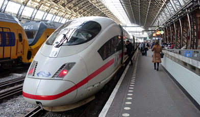 Image result for ice 122 bullet train germany
