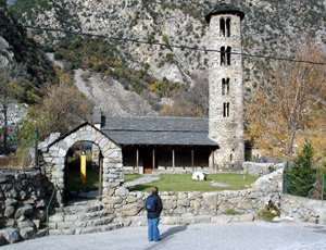 Church of St Coloma, Andorra la Vella