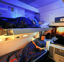 2-berth sleeper on a CountryLink XPT train from Sydney to Melbourne or from Sydney to Brisbane
