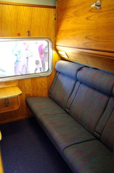 Gold Service on the Indian Pacific & The Ghan trains:  Twinette sleeper, day
