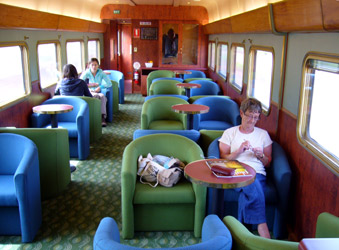 Indian Pacific & The Ghan:  Red Service lounge car