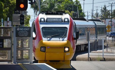 The new Spirit of Queensland tilt train