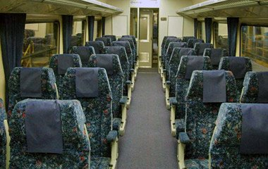 First class seats on CountryLink XPT train from Sydney to  Melbourne & Sydney to Brisbane