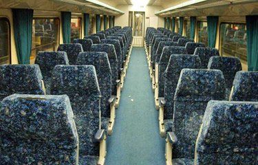 Economy class seats on CountryLink XPT train from Sydney to  Melbourne & Sydney to Brisbane
