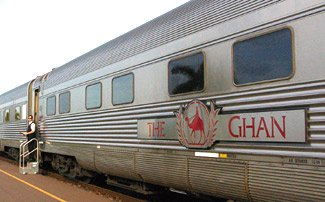 The Ghan: By train from Adelaide to Alice Springs and Darwin