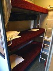 6-berth couchettes