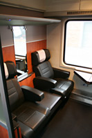 1st class seats on the Munich-Zagreb train