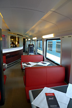 Railjet bistro car