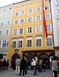 "Mozart's birthplace, Salzburg"" width=""206"" height=""270"