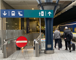 Brussels Midi - a brief station guide