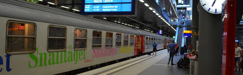 Berlin Night Express at Berlin