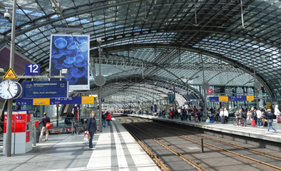 Berlin Hbf platforms 11-16