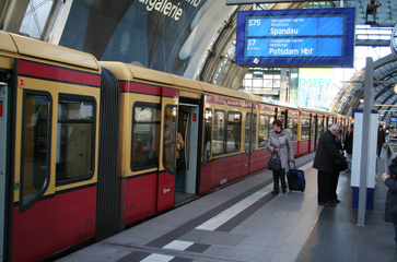 柏林Hbf Tief平台1-8