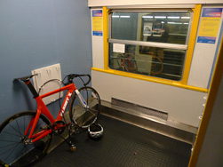 Bike space, Intercite de Nuit overnight train in France