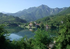 Scenery from the train to Ploce, Bosnia.
