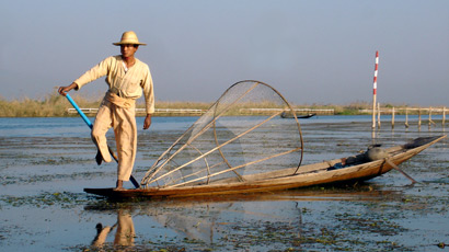 Fisherman on Inle Lake...