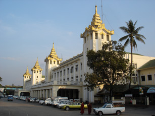 Yangon (Rangoon) main station