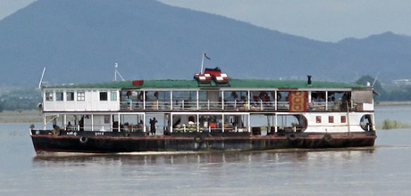 The Mandalay-Bagan slow river ferry