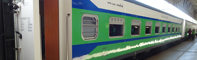 Train 5 Yangon to Mandalay