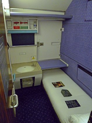 First class single sleeper