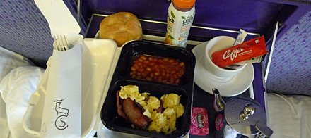Highland breakfast served in your sleeper