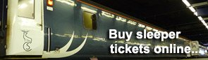 Buy Caledonian Sleeper tickets online...