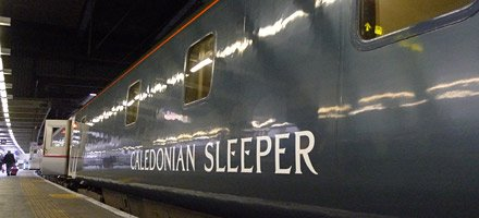 Caledonian Sleeper at London Euston