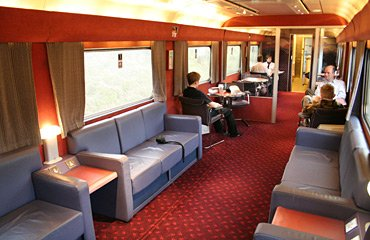 Caledonian sleeper lounge car