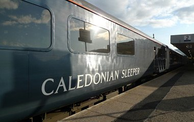 The Caledonian Sleeper at Fort William