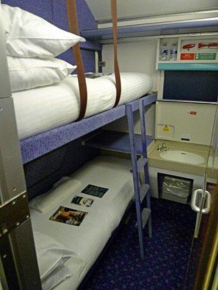 Caledonian Sleeper Trains London To Scotland