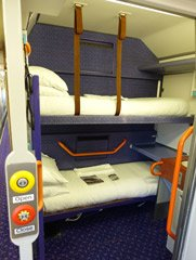 Caledonian Sleeper wheelchair accessible sleeper