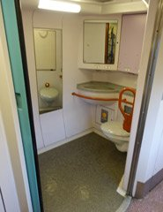 Caledonian Sleeper accessible toilet