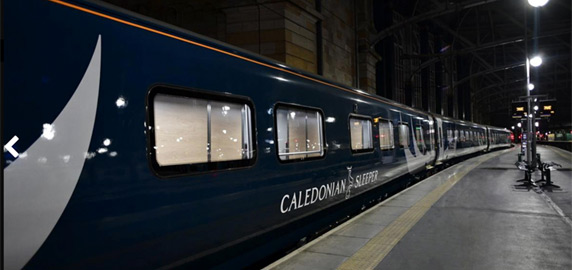 New Caledonian Sleeper train