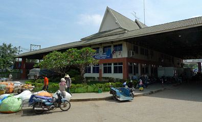 Thai side of the Thai-Cambodian border