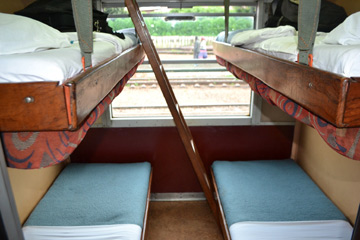 1st class couchette on Yaound� to Ngaoundere train