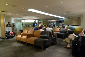 VIA Business Lounge at Montreal Central Station