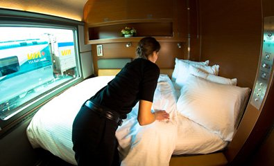 Prestige class sleeper from Toronto to Vancouver