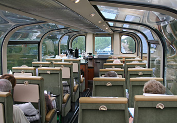 Rocky mountaineer train routes fares advice travel guide the leading dome car gets a great forward view solutioingenieria Images