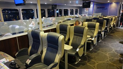 Club class on the Condor Liberation