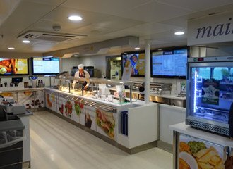 The Condor Liberation's self-service cafe