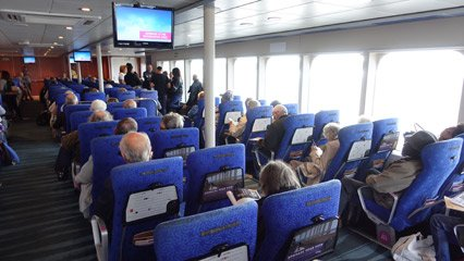 Regular seats on the Condor Liberation