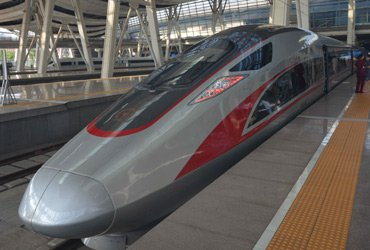 Beijing to Shanghai by high-speed train