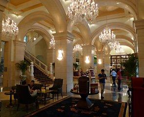 Raffles Beijing Hotel lobby